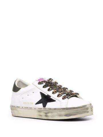 White Hi-Star sneakers