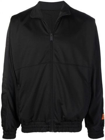 Black zipped sweatshirt