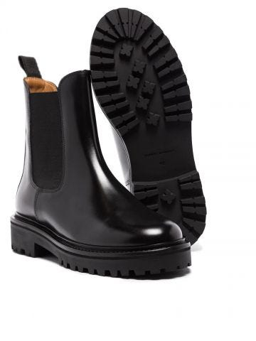 Black Castay Chelsea boots