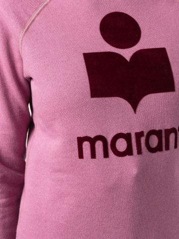 Pink Emily sweatshirt with print