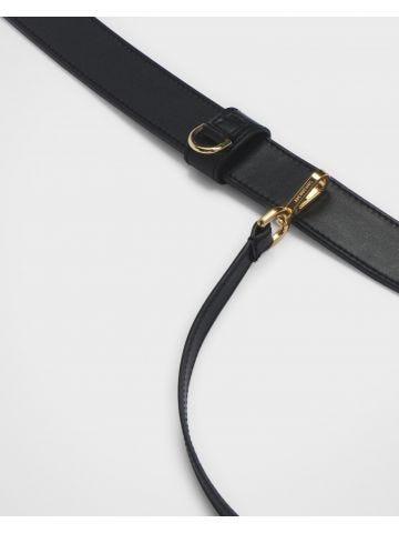 Black La ceinture porte cartes belt