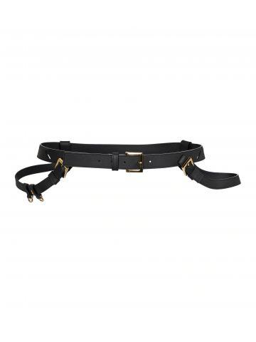 Black La ceinture Baudrier belt
