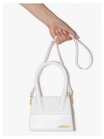 White Le Chiquito moyen bag