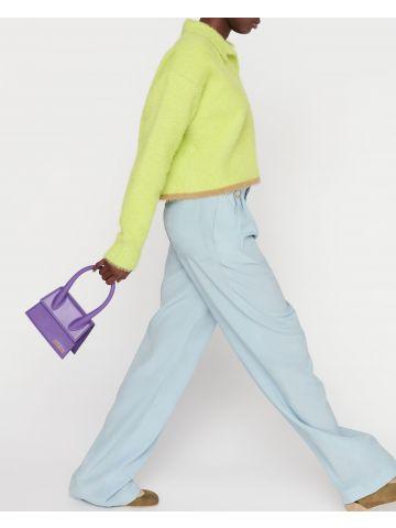 Purple Le Chiquito moyen bag