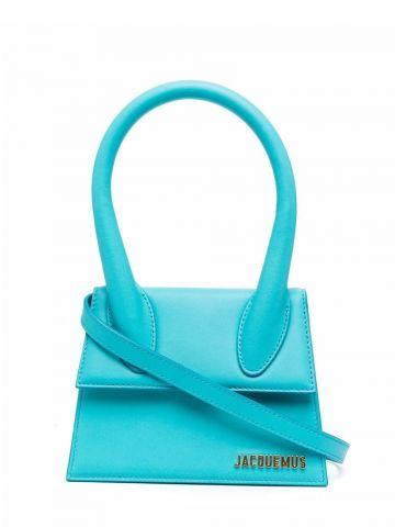 Blue Le Chiquito moyen bag