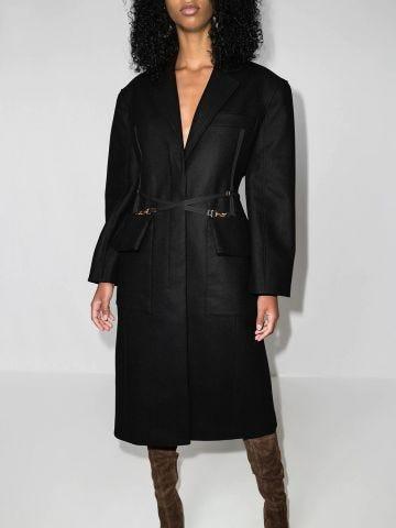 Black Le manteau Soco coat