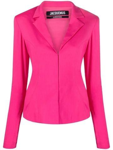 Giacca La veste Obiou rosa