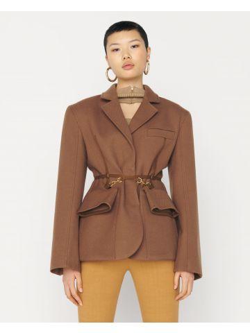 La veste Soco brown jacket