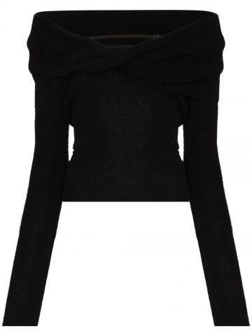 La Maille ascua black sweater