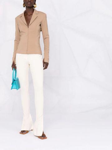 Le Pantalon Obiou white trousers