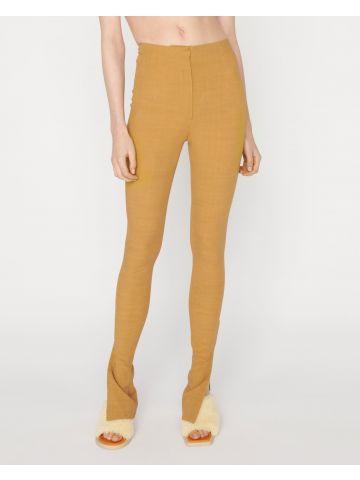 Le Pantalon Obiou beige trousers