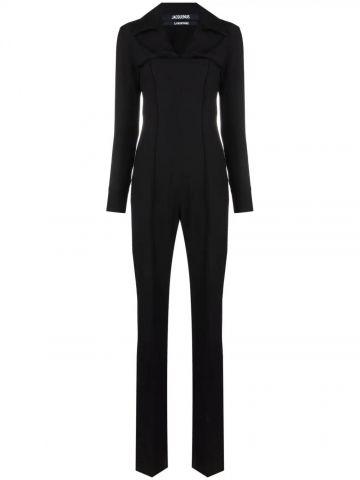 Black La Combinaison Asao jumpsuit