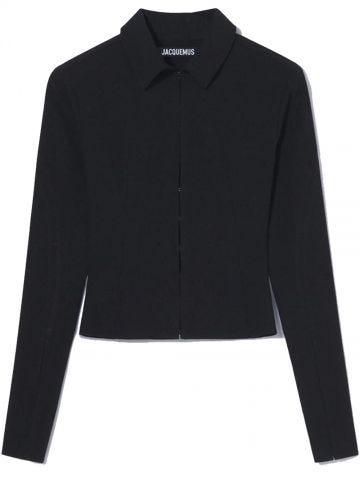 Black La chemise Obiou shirt