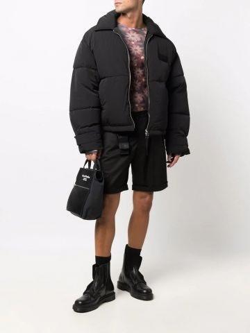 Black La doudoune Flocon zipped down jacket