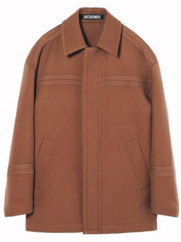Single breasted coat Le manteau Montagne
