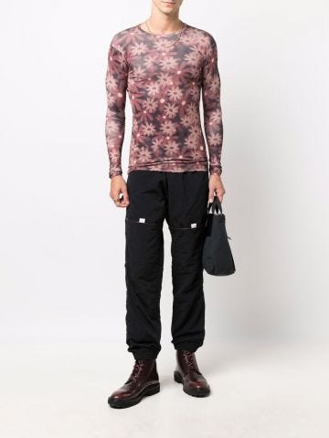 Black Le Jogger pants