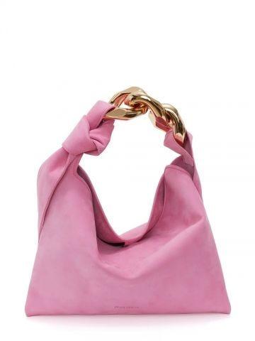 Small pink Hobo chain bag