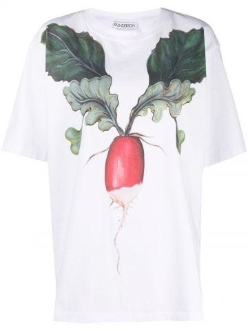 White T-shirt with print