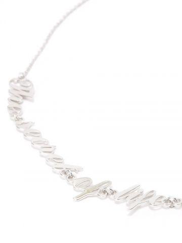 Oscar Wilde silver necklace