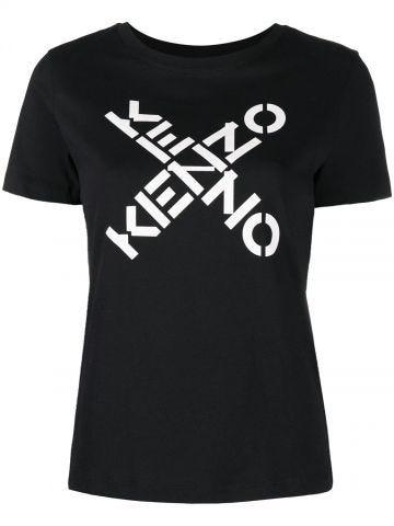 Black KENZO Sport Big X T-shirt