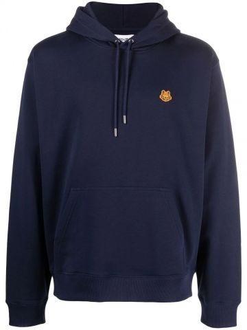 Navy blue Tiger Crest hoodie sweatshirt