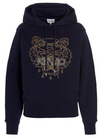 Blue Tiger hoodie