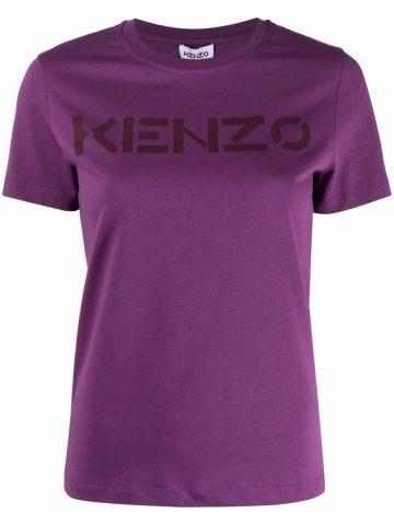Purple logo t-shirt