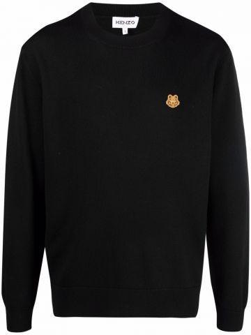 Tiger Crest merino wool sweater