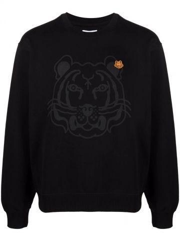 Black Tiger Crest sweatshirt