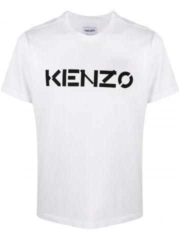White KENZO logo T-shirt