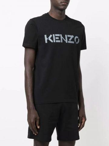 Black KENZO logo T-shirt