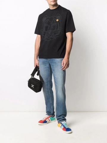 Black K-Tiger oversized T-shirt