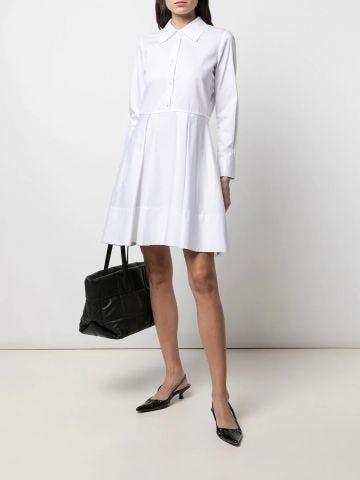 White Romy chemise dress