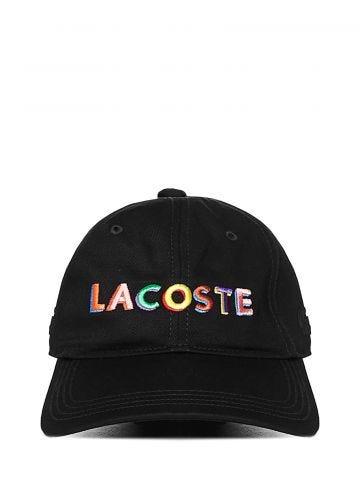 Cappello da baseball nero con logo