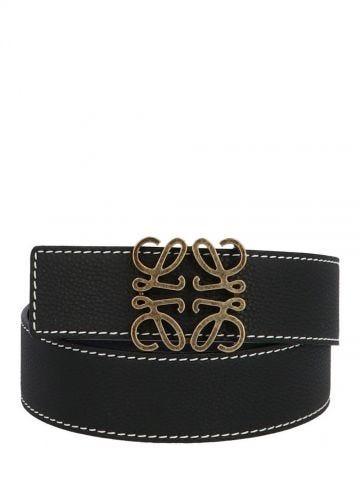 Black Anagram leather belt