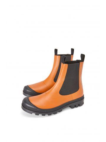 Chelsea boot in brown calfskin