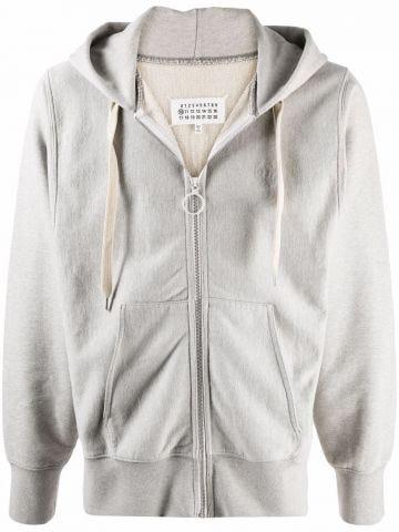 Grey zipped sweatshirt