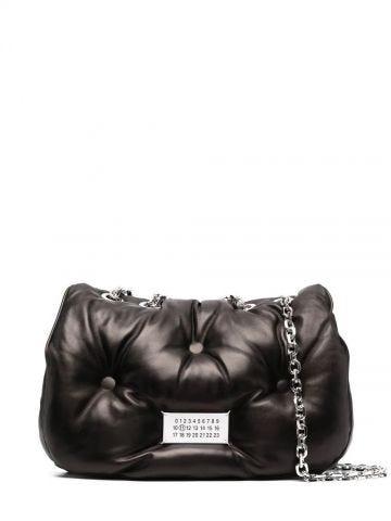 Black Glam Slam flap bag