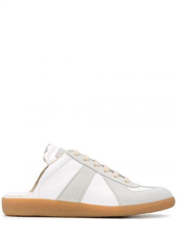 White Replica open-back sneakers