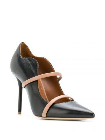 Black Maureen 100  pointed toe pumps