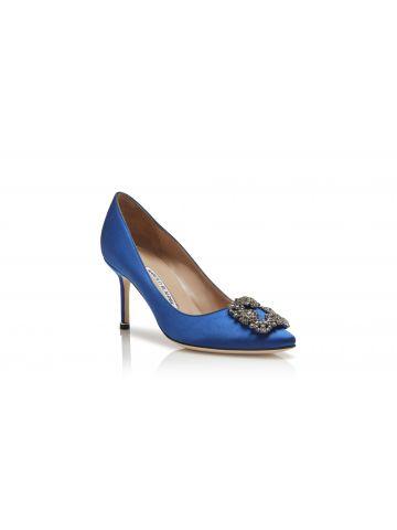 Blue Hangisi pumps