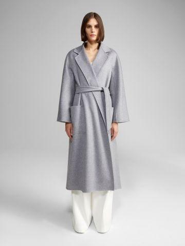 Grey Ludmilla cashmere coat