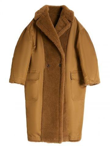 Cappotto Teddy Bear Icon reversibile marrone