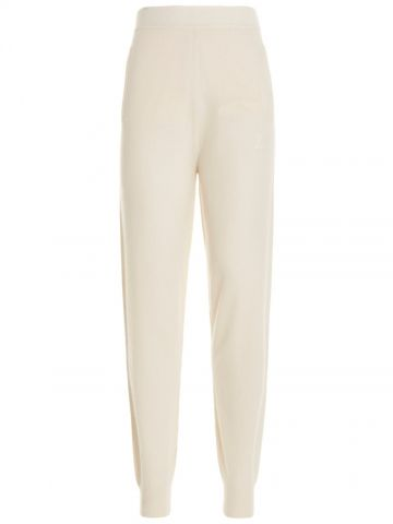 White Delta Sweatpants
