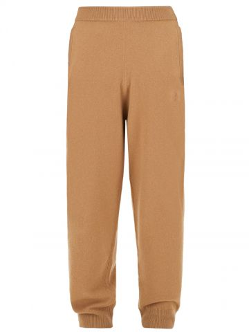 Brown Delta Jogger trousers