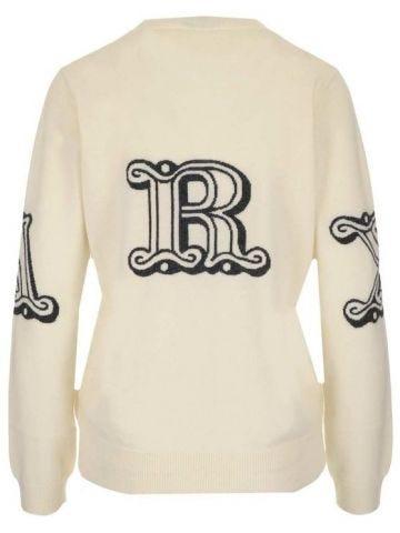 White Kuban sweater