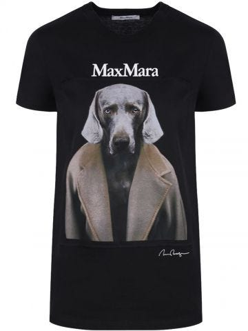 Black Dogstar cotton T-shirt