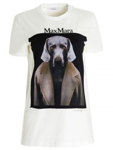 White Dogstar cotton T-shirt