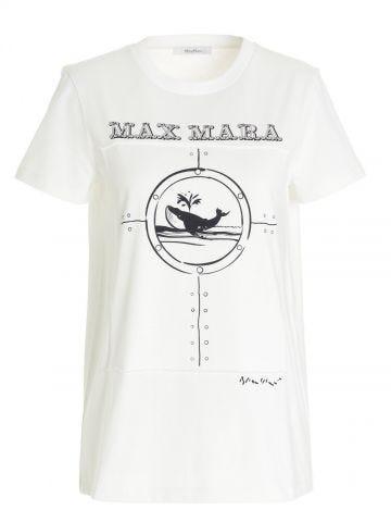 White cotton Oblo T-shirt