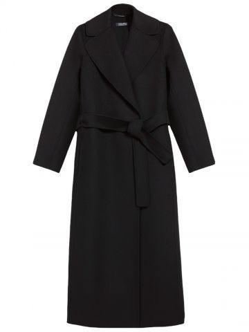 Black wool Poldo coat